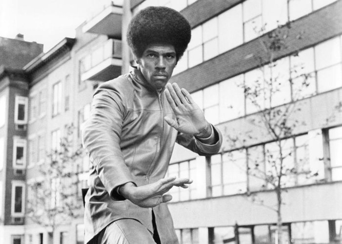Jim Kelly Greeting Card featuring the photograph Jim Kelly by Silver Screen