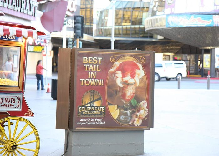 Las Greeting Card featuring the photograph Las Vegas - Fremont Street Experience - 12128 by DC Photographer
