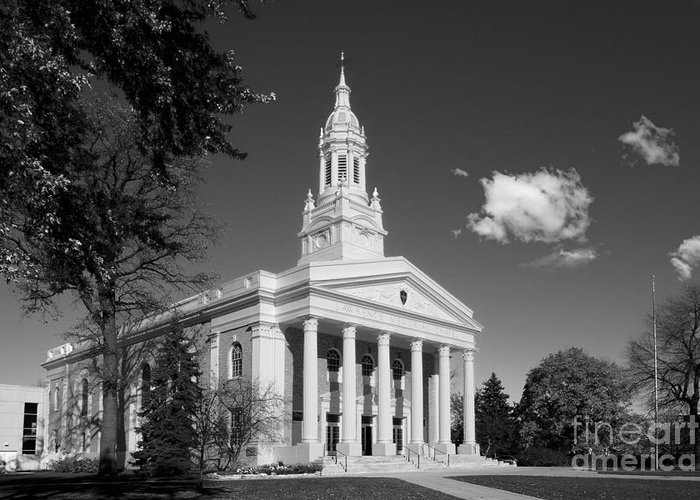Appleton Greeting Card featuring the photograph Lawrence University Memorial Chapel by University Icons
