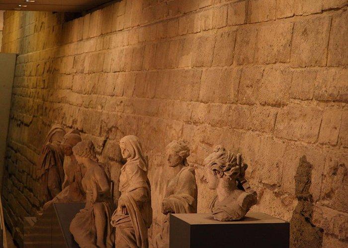 Paris Greeting Card featuring the photograph Louvre - Paris France - 011312 by DC Photographer