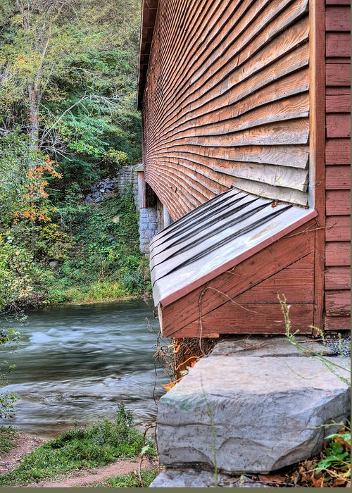 Covered Bridge Greeting Card featuring the photograph Meems Bottom by JC Findley