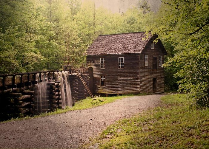 Mill Greeting Card featuring the photograph Mingus Mill by Marty Koch