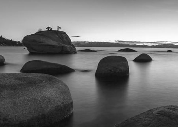 Serenity Greeting Card featuring the photograph Serenity by Brad Scott