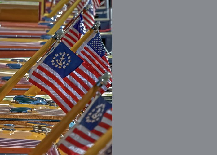 American Flag Greeting Card featuring the photograph Stars And Stripes by Steven Lapkin