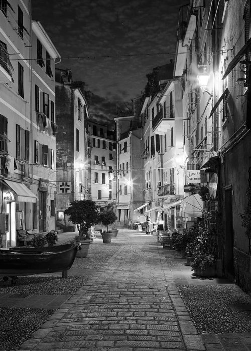 Vernazza Greeting Card featuring the photograph Vernazza Italy by Carl Amoth