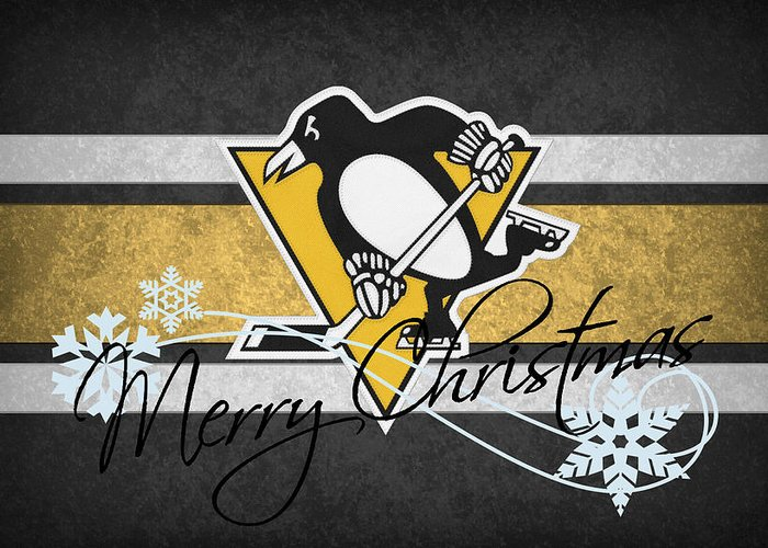 Penguins Greeting Card featuring the photograph Pittsburgh Penguins by Joe Hamilton