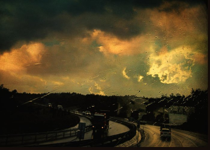 Rain Greeting Card featuring the photograph 12 Days Of Rain by Taylan Soyturk