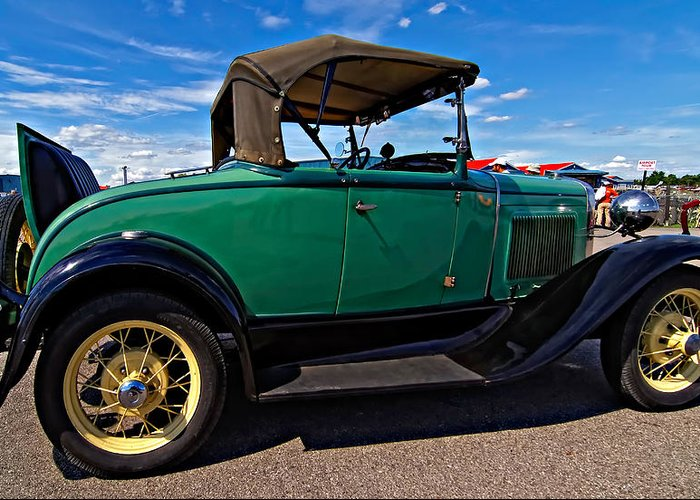Ford Greeting Card featuring the photograph 1931 Model T Ford by Steve Harrington