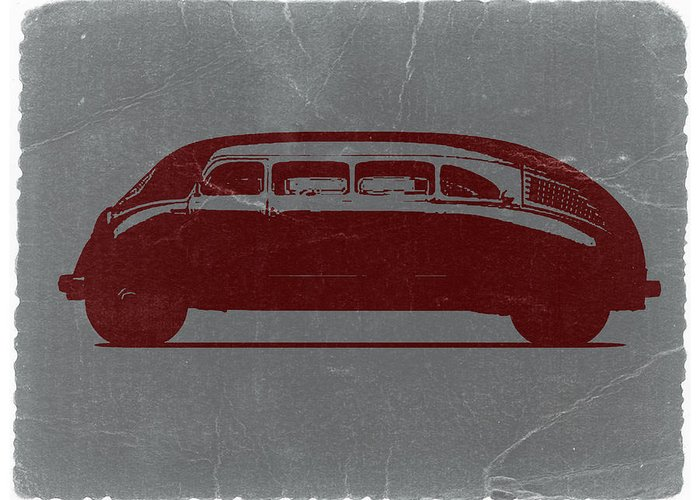 1936 Stout Scarab Greeting Card featuring the photograph 1936 Stout Scarab by Naxart Studio