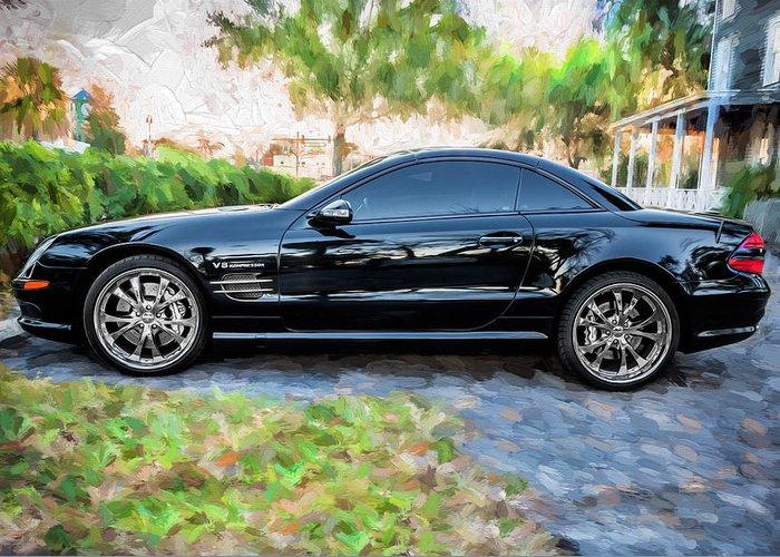2006 mercedes benz sl55 v8 kompressor coupe painted for Mercedes benz card