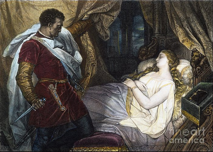 19th Century Greeting Card featuring the photograph Othello, 19th Century by Granger