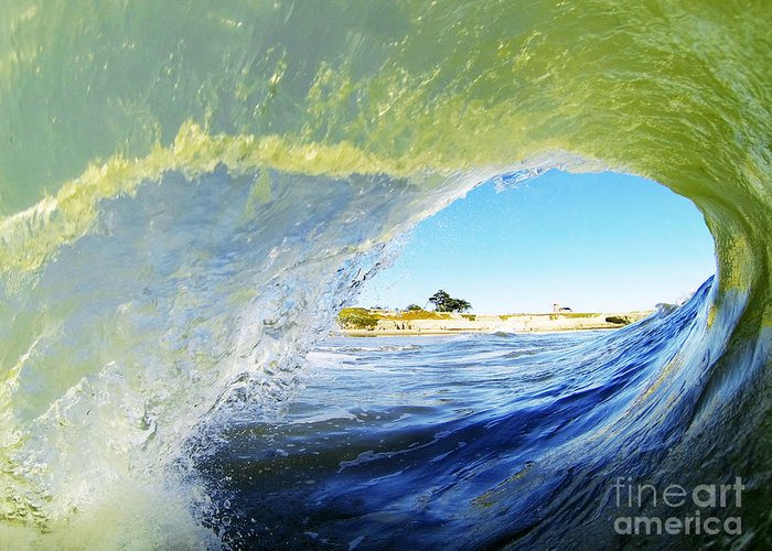 Ocean Greeting Card featuring the photograph Point Of View by Paul Topp