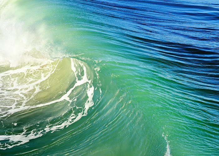 Big Wave Greeting Card featuring the photograph The Great Wave by Laura Fasulo