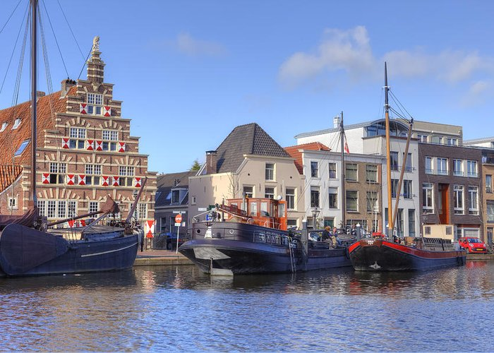 Leiden Greeting Card featuring the photograph Leiden by Joana Kruse