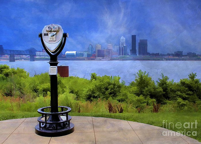 America Greeting Card featuring the photograph Louisville Kentucky by Darren Fisher