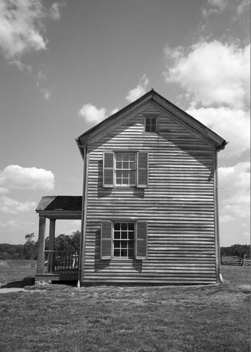 Agriculture Greeting Card featuring the photograph Farmhouse by Frank Romeo