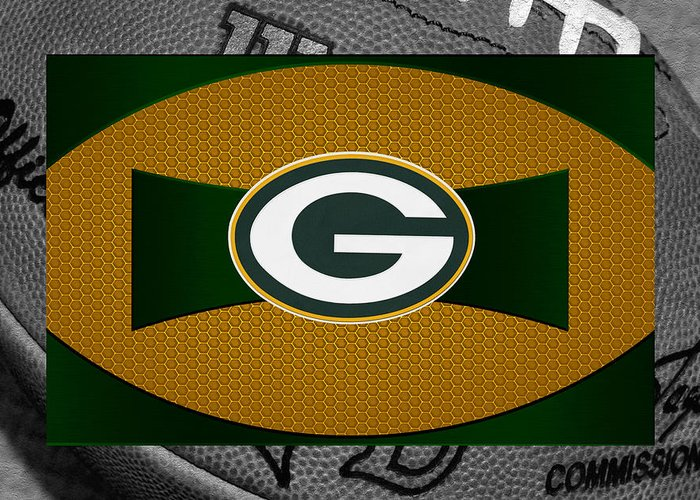 Packers Greeting Card featuring the photograph Green Bay Packers by Joe Hamilton
