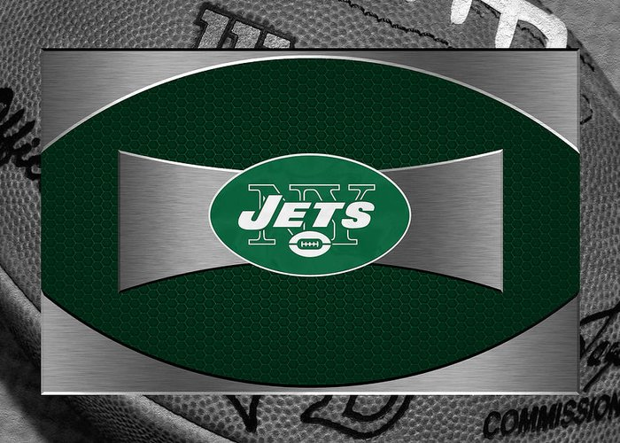 Jets Greeting Card featuring the photograph New York Jets by Joe Hamilton