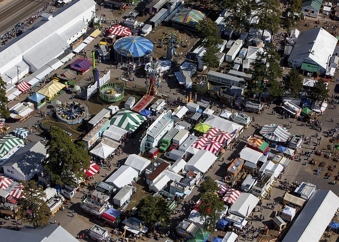 America Greeting Card featuring the photograph Fryeburg Fair, Maine Me by Dave Cleaveland
