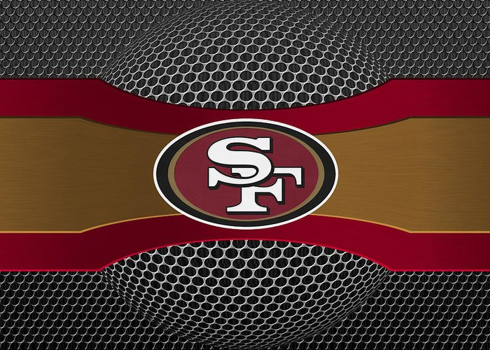 49ers Greeting Card featuring the photograph San Francisco 49ers by Joe Hamilton