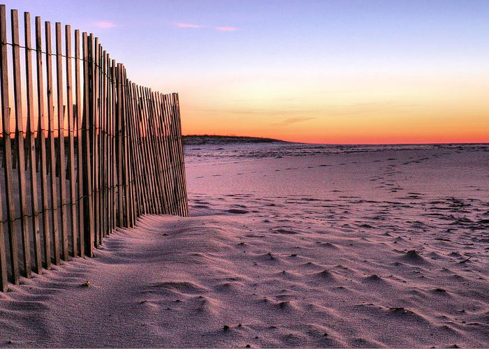 Jones Beach Greeting Card featuring the photograph A Jones Beach Morning by JC Findley