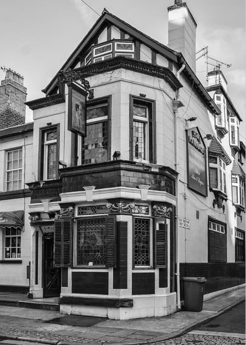 English Pub Greeting Card featuring the photograph A Pub On Every Corner by Georgia Fowler