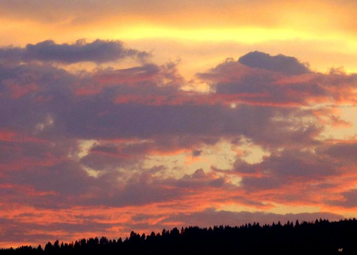 A Remarkable Sky Greeting Card featuring the photograph A Remarkable Sky by Will Borden