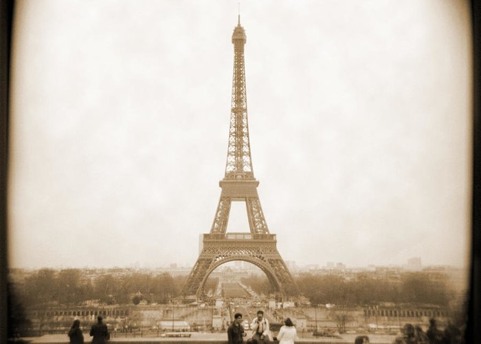 Paris France Greeting Card featuring the photograph A Walk Through Paris 5 by Mike McGlothlen