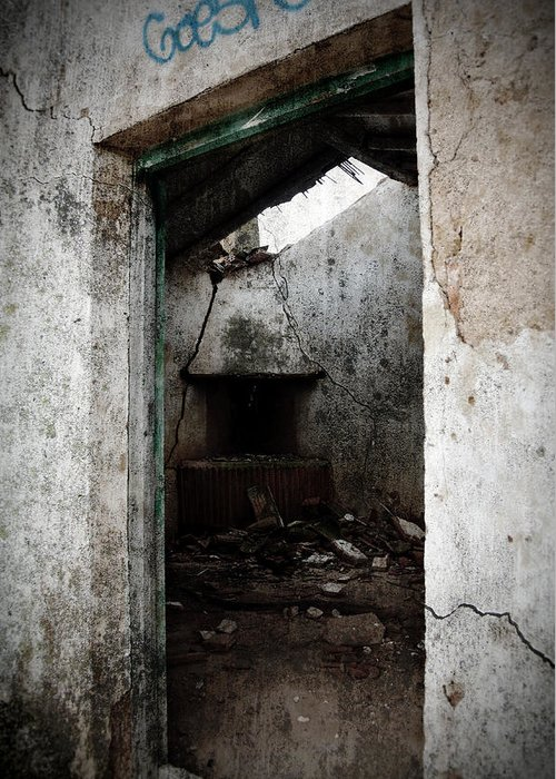 Grunge Greeting Card featuring the photograph Abandoned Little House 1 by RicardMN Photography