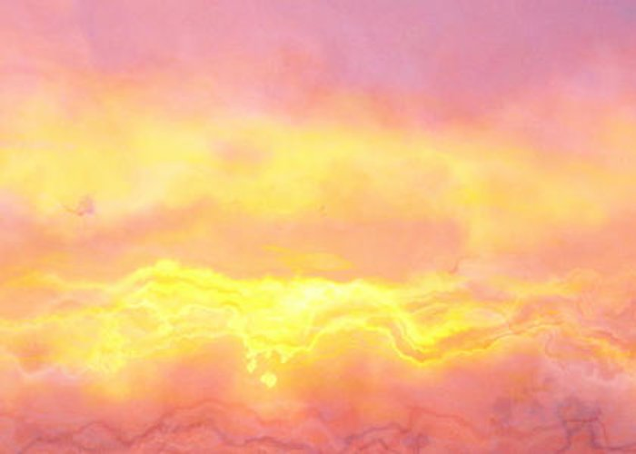 Abstract Art Greeting Card featuring the digital art Above The Clouds - Abstract Art by Jaison Cianelli