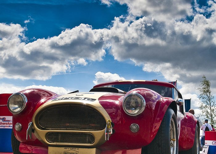 Oliver Bryant Greeting Card featuring the photograph Ac Cobra by Mike Hayward