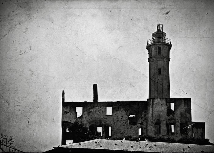 Alcatraz Island Greeting Card featuring the photograph Alcatraz Island Lighthouse by RicardMN Photography