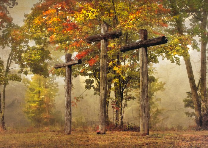 Appalachia Greeting Card featuring the photograph Amazing Grace by Debra and Dave Vanderlaan