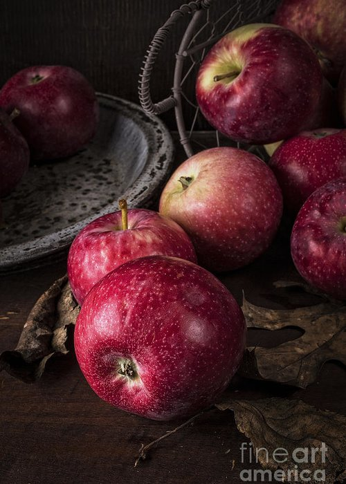 Apples Greeting Card featuring the photograph Apple Still Life by Edward Fielding