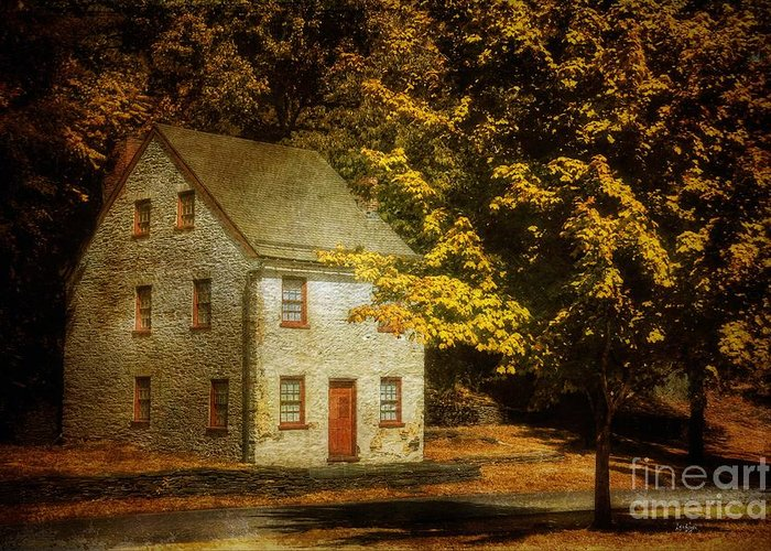House Greeting Card featuring the photograph As The World Passes By by Lois Bryan