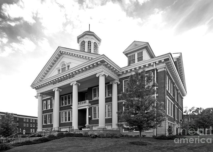 Administration Greeting Card featuring the photograph Asbury University Hager Administration Building by University Icons