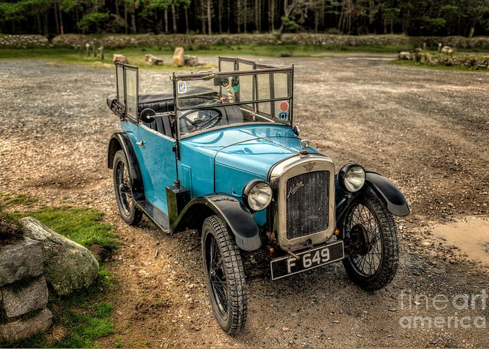 Austin Motor Company Greeting Card featuring the photograph Austin 7 V2 by Adrian Evans