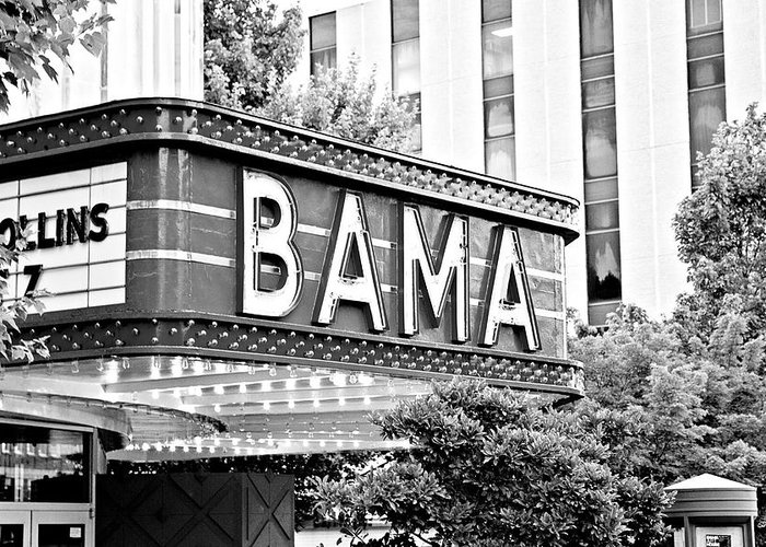Bama Greeting Card featuring the photograph Bama by Scott Pellegrin