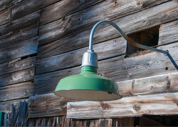 Barn Greeting Card featuring the photograph Barn Light by Guy Whiteley