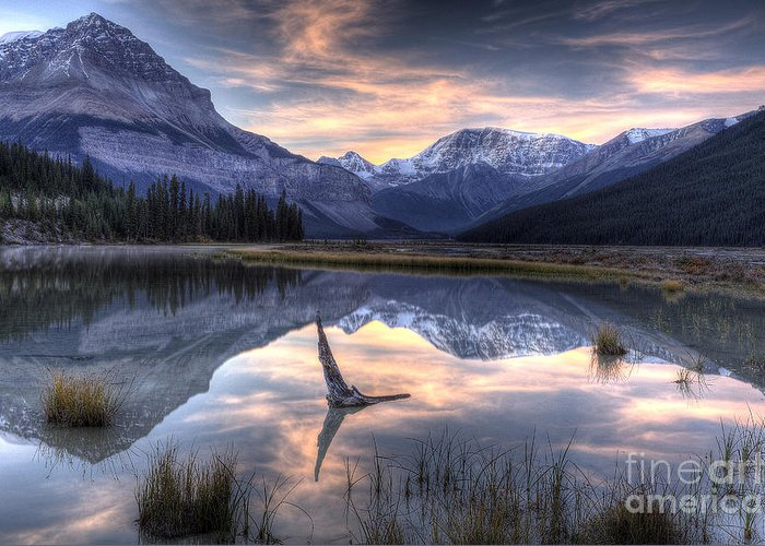 Beauty Creek Greeting Card featuring the photograph Beauty Creek Pre-dawn by Brian Stamm