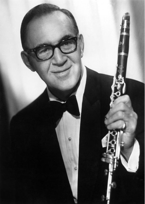 20th Century Greeting Card featuring the photograph Benny Goodman (1909-1986) by Granger