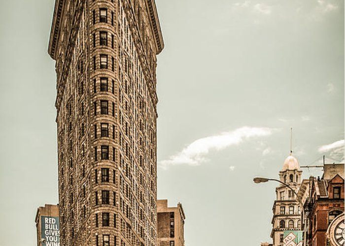 Nyc Greeting Card featuring the photograph Big In The Big Apple by Hannes Cmarits