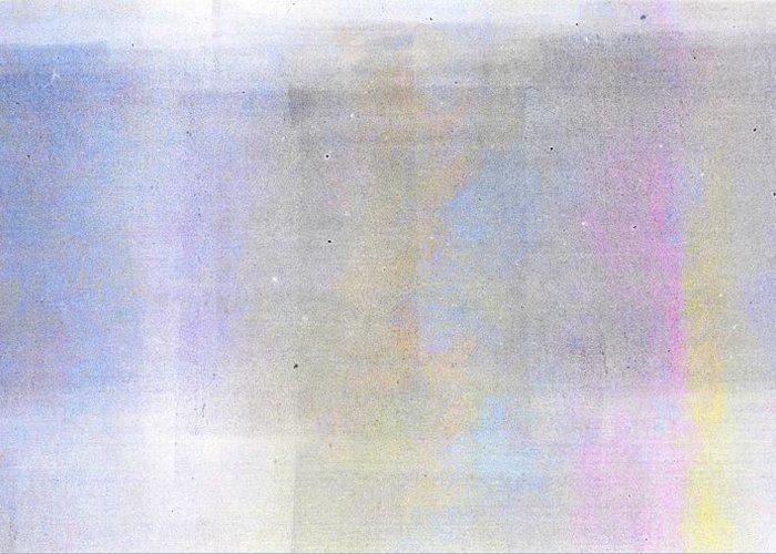 Brett Greeting Card featuring the digital art Bliss by Brett Pfister