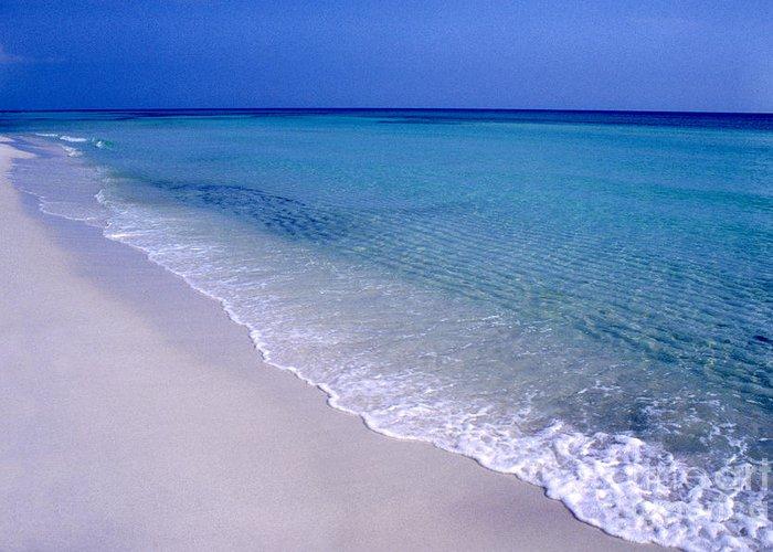 Florida Greeting Card featuring the photograph Blue Mountain Beach by Thomas R Fletcher