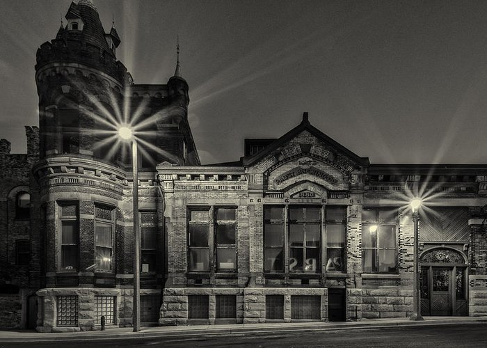 Www.cjschmit.com Greeting Card featuring the photograph Brewhouse 1880 by CJ Schmit