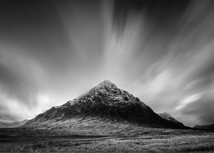Buachaille Etive Mor Greeting Card featuring the photograph Buachaille Etive Mor 1 by Dave Bowman