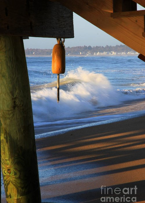 Maine Greeting Card featuring the photograph Buoy 2 by Michael Mooney