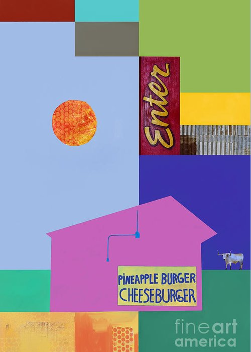 Burger Joint Greeting Card featuring the photograph Burger Joint #4 by Elena Nosyreva