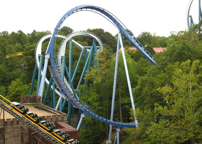 Busch Greeting Card featuring the photograph Busch Gardens - 12121 by DC Photographer