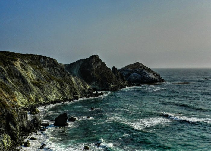 Big Sur California Greeting Card featuring the photograph California - Big Sur 010 by Lance Vaughn
